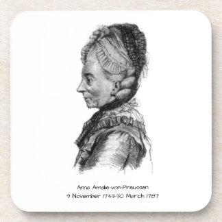 Anna amalie von Preussen Onderzetter
