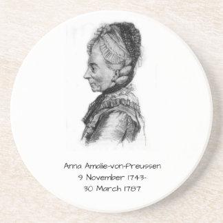 Anna amalie von Preussen Zandsteen Onderzetter