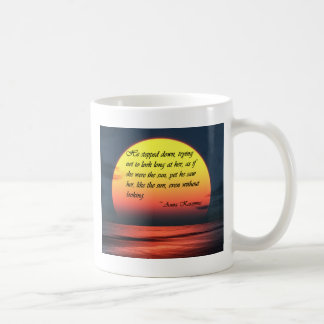 Anna Karenina zag haar als het Citaat van de Koffiemok
