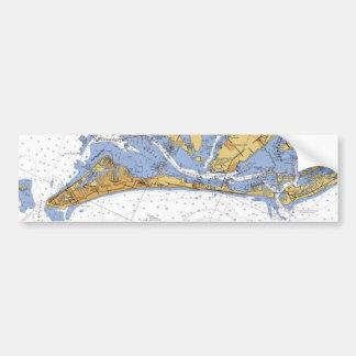 Anna Maria Island Florida de Zeevaartsticker van d Bumpersticker