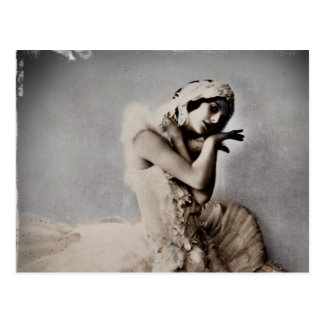 Anna Pavlova Gestelde Engelse Pointe Briefkaart