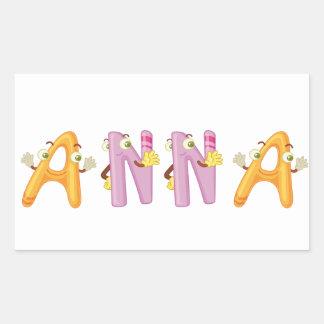 Anna Sticker
