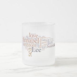 Annabel Lee Matglas Koffiemok