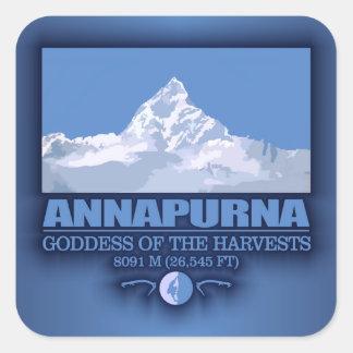 Annapurna Vierkante Sticker