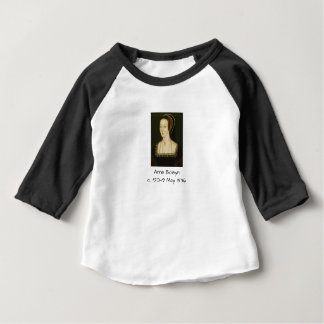 Anne Boleyn Baby T Shirts