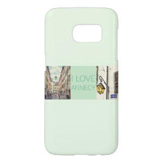"""""""Annecy van de Liefde van I"""" de Banner van de Foto Samsung Galaxy S7 Hoesje"""