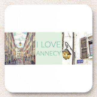 """""""Annecy van de Liefde van I"""" Onderzetters"""