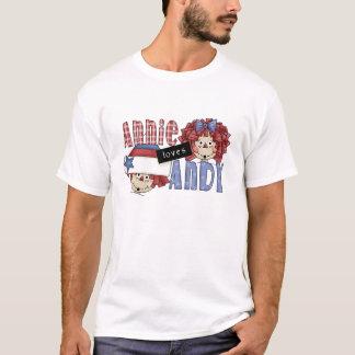 Annie Loves Andy Ragdoll T Shirt