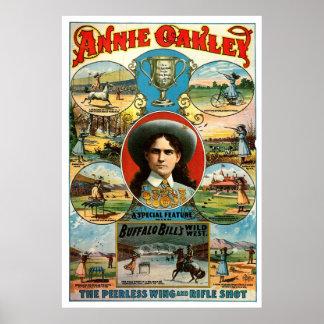 Annie Oakley - Druk Poster