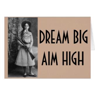 Annie Oakley Funny Cowgirl Cards Briefkaarten 0