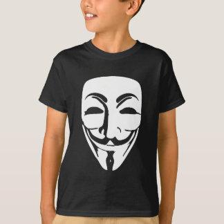 anoniem gezicht t shirt