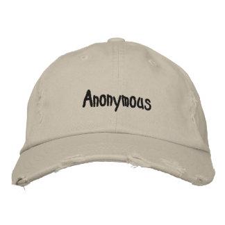 Anoniem pet geborduurde pet