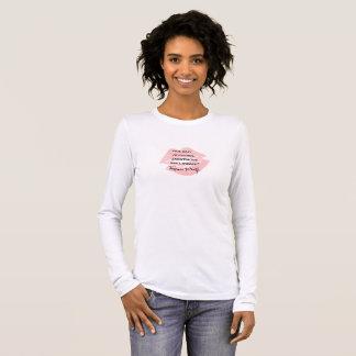 Anoniem was een citaat van de Vrouw ~ Virginia T Shirts