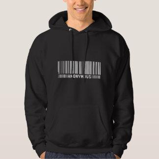 Anoniem - wij zijn Anoniem - de Streepjescode Hoodie