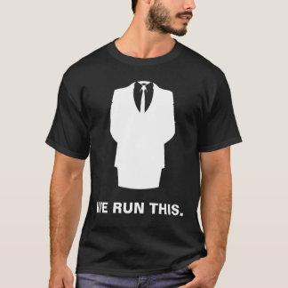 """Anonieme T-shirt """"WIJ STELLEN DEZE"""" Zwarte in"""