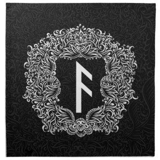 Ansuz-rune/Welvaart, Vitaliteit Katoenen Servet
