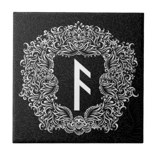 Ansuz-rune/Welvaart, Vitaliteit Keramisch Tegeltje