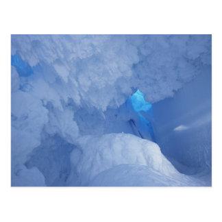 Antarctica, Ross Island, Kaap Evans, het hol van Briefkaart