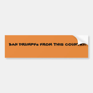 Anti de bumpersticker van de Troef