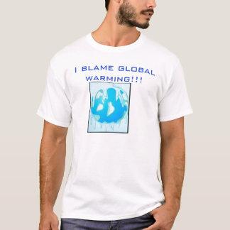 Anti Globale Verwarmende T-shirt