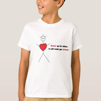 Anti-intimideer T voor kind T Shirt