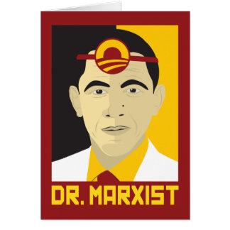 Anti-Obama: De Marxist van de arts Kaart