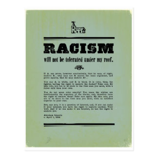 Anti-Racism Briefkaart