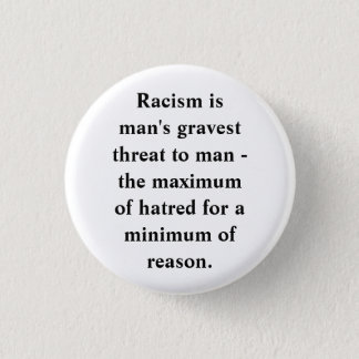 ANTI-RACISM RONDE BUTTON 3,2 CM