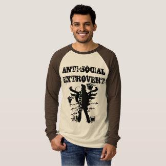 Anti sociaal Extravert 2 T Shirt