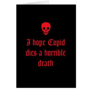 Anti Valentijnsdag Kaart