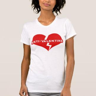 Anti-Valentijnse Dag Heartbreaker T Shirt