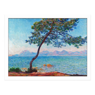 Antibes door Monet Briefkaart