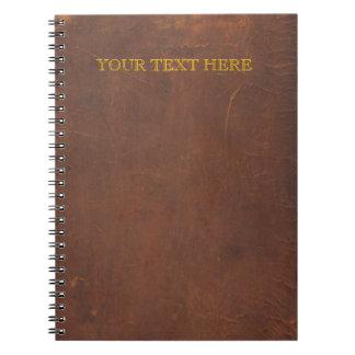 "Antiek boek/Oude boek/Faux ""verbindend leer "" Notitieboek"