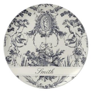 Antiek Engel Klantgerichte Plate_Black Bord