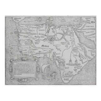 Antiek Kaart van Afrika