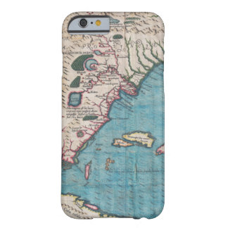 Antiek Kaart van Florida en Cuba Barely There iPhone 6 Hoesje