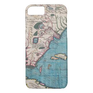 Antiek Kaart van Florida en Cuba iPhone 8/7 Hoesje