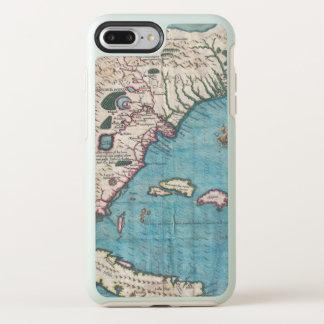 Antiek Kaart van Florida en Cuba OtterBox Symmetry iPhone 8 Plus / 7 Plus Hoesje