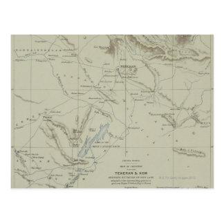 Antiek Kaart van Iran