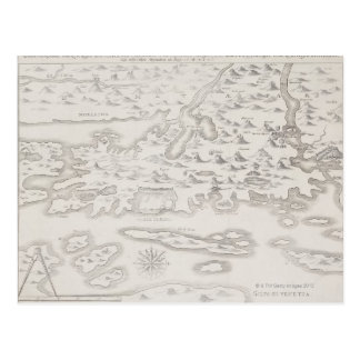 Antiek Kaart van Kroatië