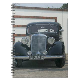 antiek Mercedes Notitieboek