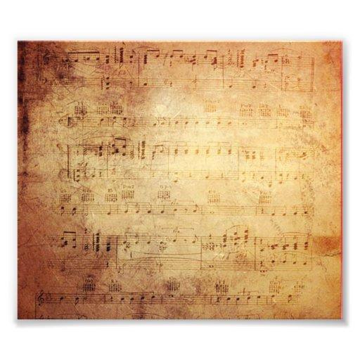 Antiek Muziek Foto Kunst