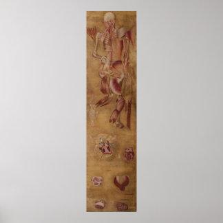 Antiek silk painting myology spier poster