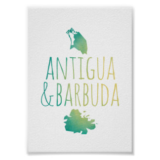 Antigua & Barbuda Poster