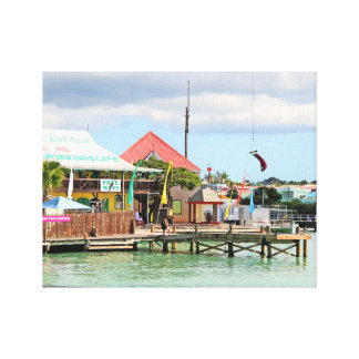 Antigua, Eiland in de Caraïben Canvas Afdrukken