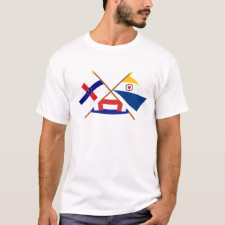 Antillen van Nederland en Bonaire Gekruiste T Shirt