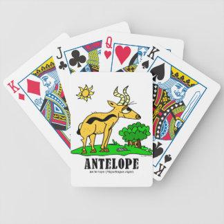 Antilope door Lorenzo Traverso Bicycle Speelkaarten