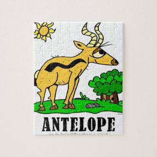 Antilope door Lorenzo Traverso Puzzel