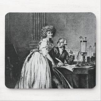 Antoine Laurent Lavoisier en zijn vrouw Muismatten