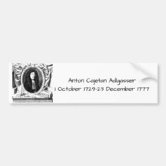 Anton Cajetan Adlgasser Bumpersticker